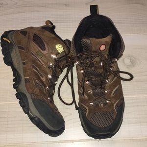 Merrell Continuum Vibram brown hiking boots